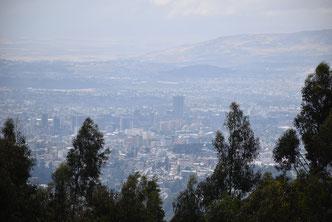 Вид на Аддис Абебу