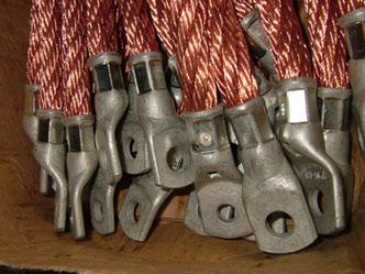 Erdungskabel aus Kupfer