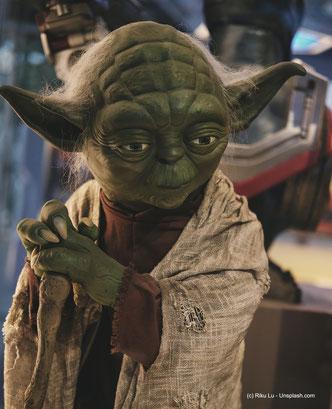 Jedi-Meister Yoda, der fiktive Charakter aus Star Wars, ein INFJ-A er ist.