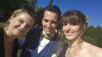 Le selfie des mariés d'Angélique et Grégory - votre cérémonie laïque by Charlotte