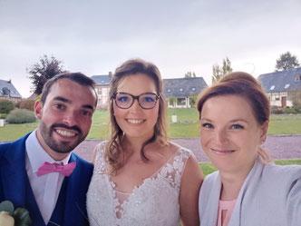 Le selfie des mariés!