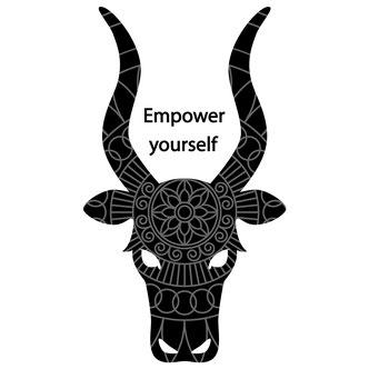 ウガンダ・東アフリカのアンコーレ牛イラストデザインTシャツ販売カッコイイ