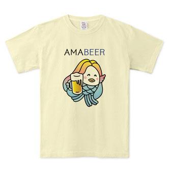 着れば着るほどカッコ良くなるアマビエTシャツデザインビンテージ