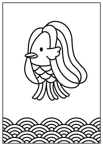 アマビエイラストをインフィオラータ(フラワーカーペット)の下絵に花のじゅうたん