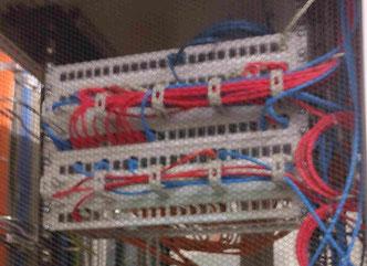 Patch Feld Zentral IT für Automation oder dezentrale Lösung Foto Solarstrom Simon