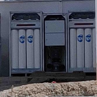Wasserstoff Fronius Energiezelle Storage Gas H2