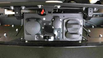 Elektroanschluß des Sion Solarfahrzeug der Firma Sono Motors Foto Solarstrom Simon