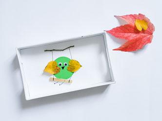 Herbst Basteln mit Kindern persönliche Geschenke