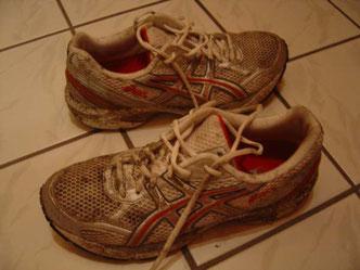 Von meinen weißen Schuh`n blieb nicht viel weiß übrig