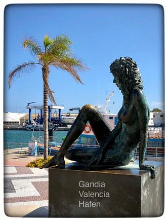 Am Hafen von Gandia, Valencia