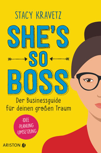 Cover des Buches: Stacy Kravetz: She's so boss.