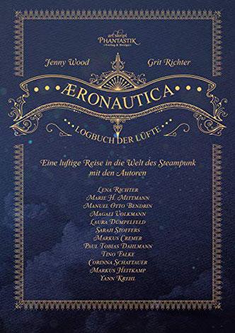 """Hier ist das Cover der Anthologie """"Aeronacutica"""" zu sehen."""