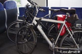 Fahrräder Zug Ruhrtal Radweg Erlebnis