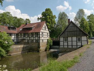 Alte Wassermühle im Tecklenburger Land am Wanderweg