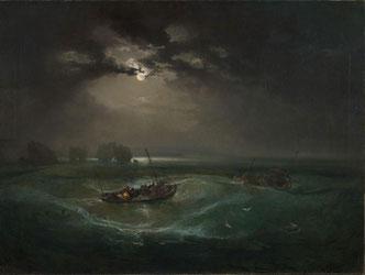 Turner: Horror and Delight zeigt eines der Ausstellungsbilder.