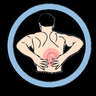 Rückenschmerzen können durch einen Personal Trainer vermieden werden