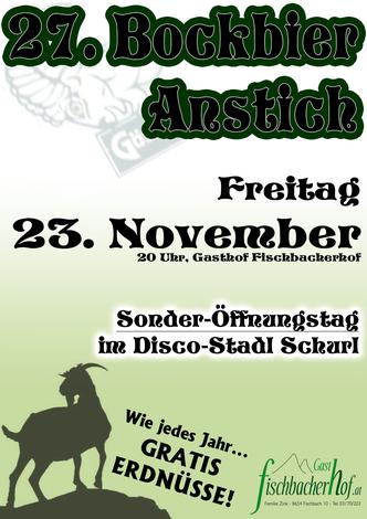 Plakat Bockbier 2018