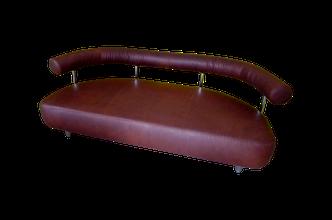 braunes Leder Sofa