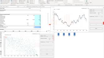 Define correlations MC FLO Monte Carlo Simulation Excel