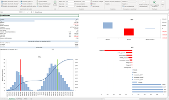 MC FLO - resultados simulación monte carlo MC FLO Monte Carlo simulación Excel
