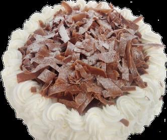 dolce di compleanno meringata alla cioccolata
