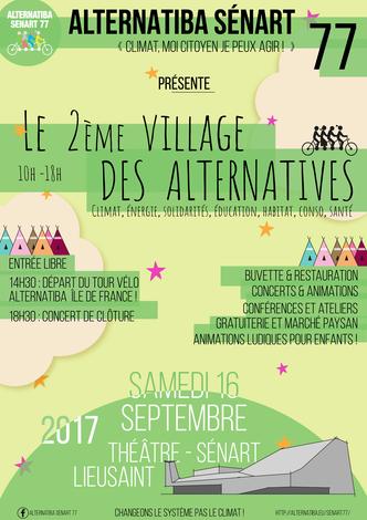 Affiche Alternatiba 2017 - crédits Alternatiba Sénart 77