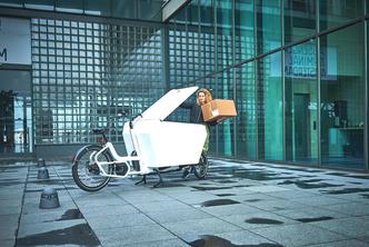 Das Urban Arrow Lasten e-Bike mit viel Stauraum