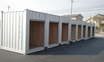 中は広々収納・保管 レンタルボックス、トランクルーム!