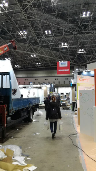 愛知県犬山市 中古貨物コンテナ12ft グリーン塗装・窓・内装・フローリング・電気設置