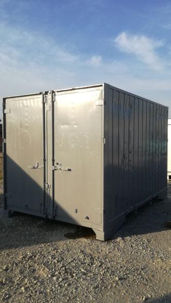貨物用12フィートコンテナ 保冷タイプ(中古/グレー)