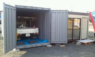 軽トラックや除雪車の車庫に!