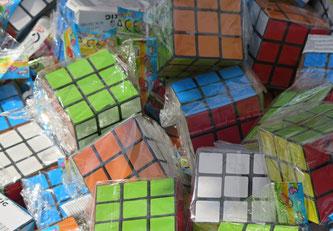 06. Juli 2016 - Einkaufskorb: der gute alte Rubik ist wieder da!