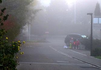 05. November 2015 - Schulweg im Herbst