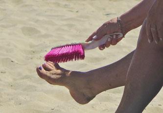 05. Juli 2016 - Zuviel Sand am Strand