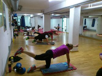Fitnessboxen Gruppe, Dezember 2016 @ M's-Gym Bern Ittigen