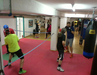 Fitnessboxen & Light-Contact Boxing März 2016 @ M's-Gym Bern Ittigen