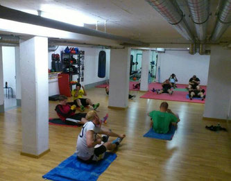 Fitnessboxen: Bauch, Beine u. Po Spezial April 2016 @ M's-Gym Bern Ittigen