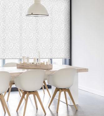 Рулонная ткань Венеция, серый
