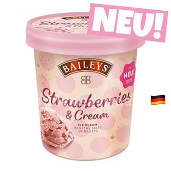 Baileys Strawberries & Cream Ice Cream