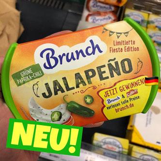 Brunch Aufstrich  Jalapeno Grüne Paprika-Chili