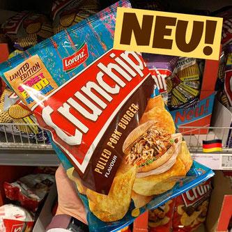 """Lorenz Crunchips """"Pulled Pork Burger"""""""