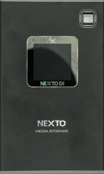 mobiler Fotospeicher Nexto DI von vorne