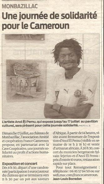 "JOURNAL ""LA PROVINCIA"" ESPAGNE 2015"