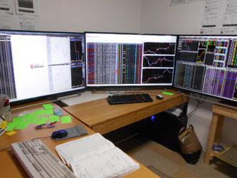 FX用トレードパソコン