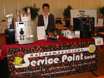 Die ideale Kaffee Lösung für Ihre Wochenendanlässe, Dorffeste, Messen oder gesellschaftlichen Veranstaltungen aller Art