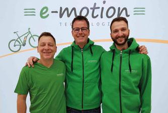e-Bike Experten in der e-motion e-Bike Welt Münster
