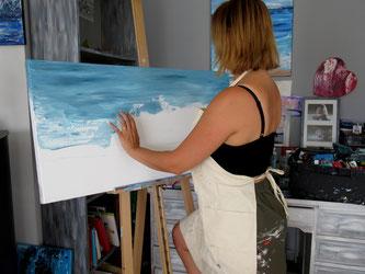 artiste-peintre-royan-audrey-chal-tableau-abstraits-modernes