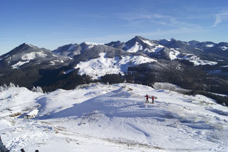Der Chiemgau - ein Traum auch im Winter