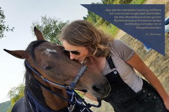 Ein pferdeunterstütztes Coaching weckt Emotionen_horse-feedback.ch