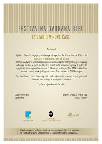 Bled, Slowenien, Slovenija, Festivalna Dvorana, Ausstellung, razstáva, Nocturne, Anerkennungspreis,